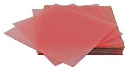 (Pink) 26 Gauge (0.46mm Thick), 100 x 100mm