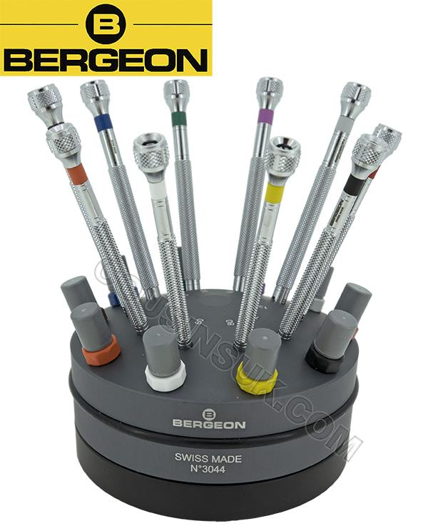 Bergeon Chromium Plated (10 Pieces, RS)