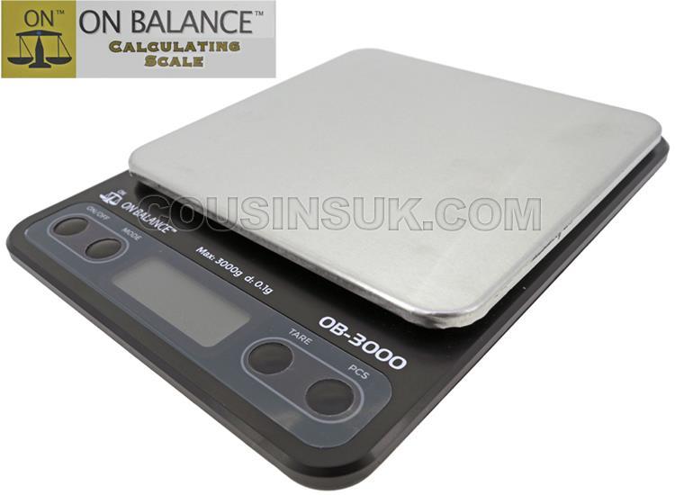 3000g x 0.1g On Balance