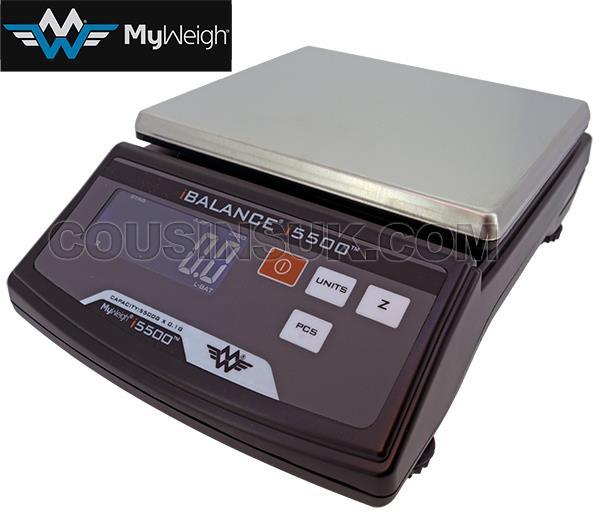 5500g x 0.1g My Weigh