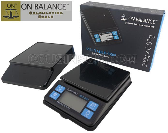 MTT-200 Pocket Scale (200g x 0.01g)