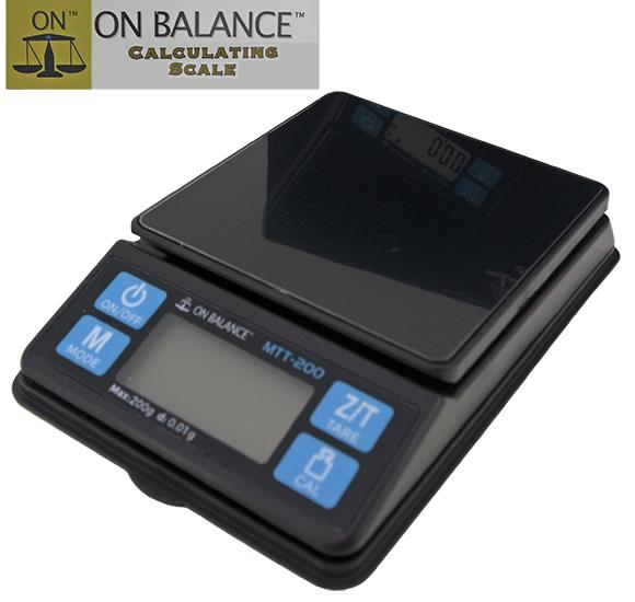 200g x 0.01g On Balance (Backlit)