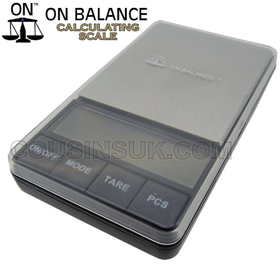 200g x 0.01g On Balance (Dual Display)