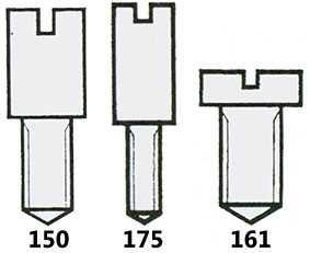 Bridge Screws (Pocketwatch) Graded