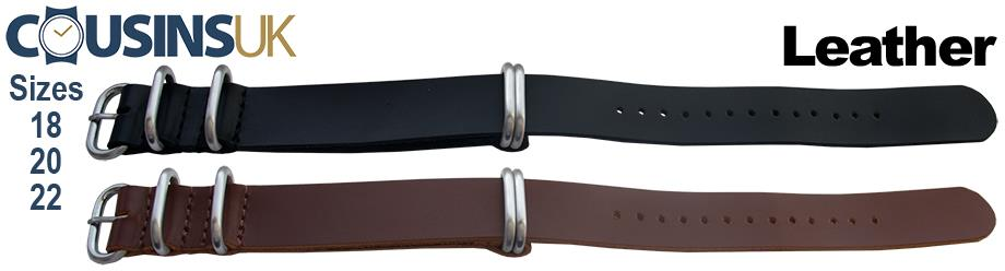 Zulu 5 Ring Style - Leather