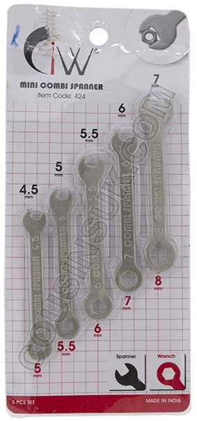 Spanners - Combination