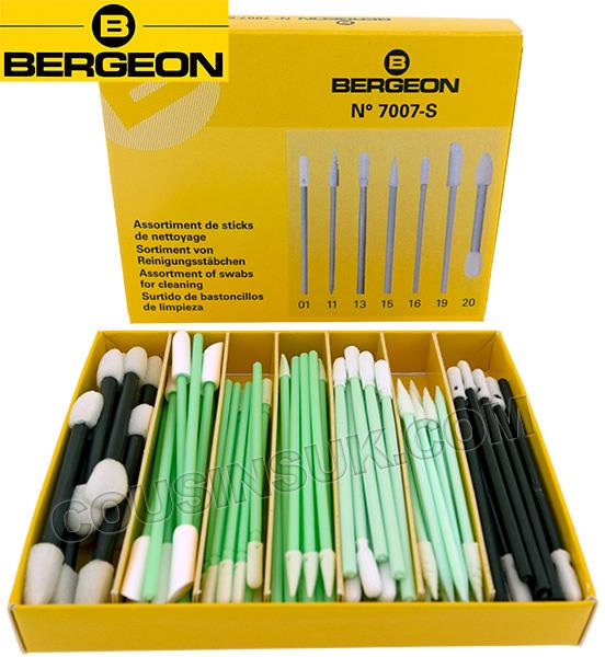 Assorted Cleaning Swabs, Bergeon Swiss