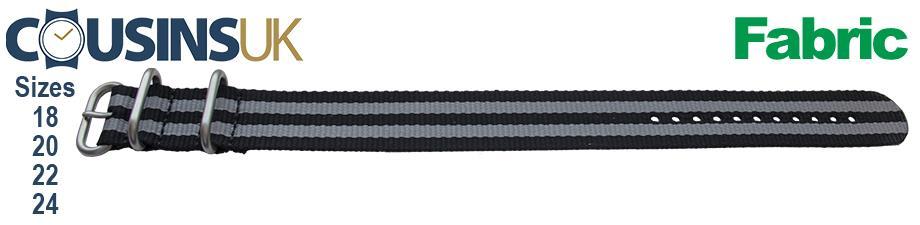 Zulu 3 Ring Style - Stripe, Mil Spec