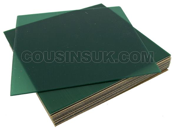 (Green) 28 Gauge (0.30mm Thick), 100 x 100mm