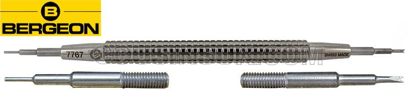 Bergeon 7767, Screw In Ends (Extra Knurled)