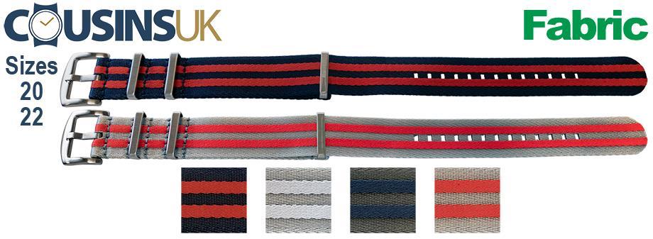 2 Stripes - Seatbelt (1.2mm) Style
