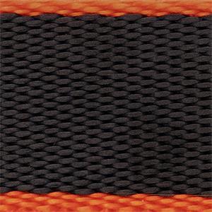 Orange/black 22mm