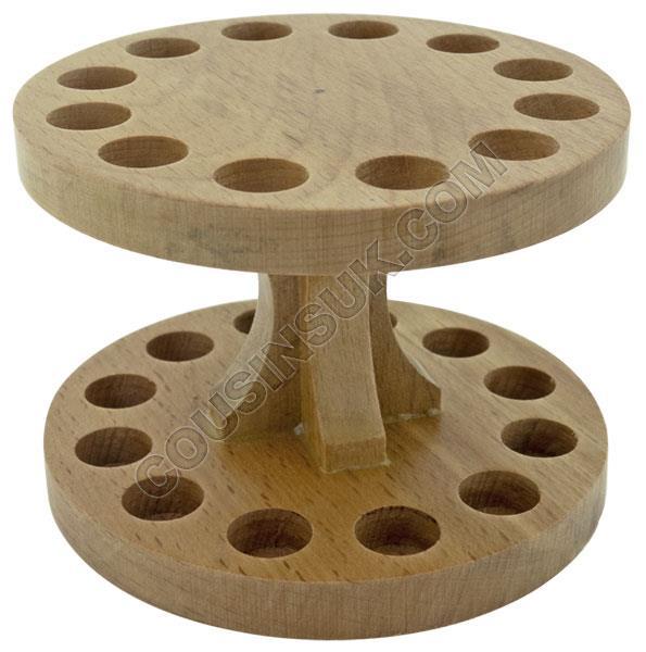 Tool Rack, Wooden (Tweezers)