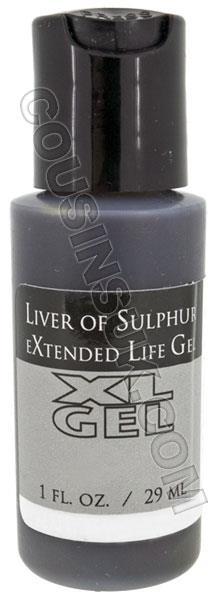 1 Ounce Liver of Sulphur Gel