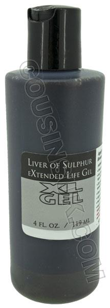 4 Ounce Liver of Sulphur Gel
