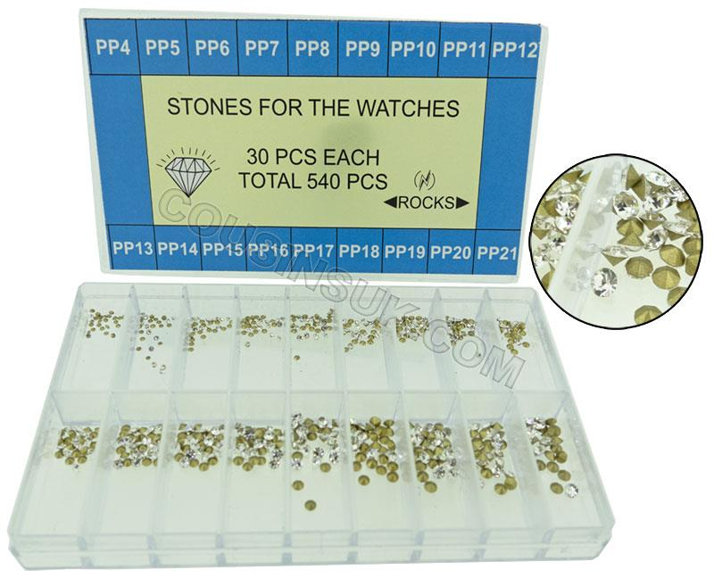 Clear Glass Paste Stones