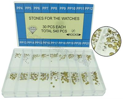 Glass Paste Stone Set