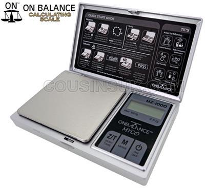 MZ-1000 Pocket Scale (1000g x 0.1g)