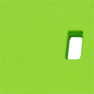 22mm Lime Green