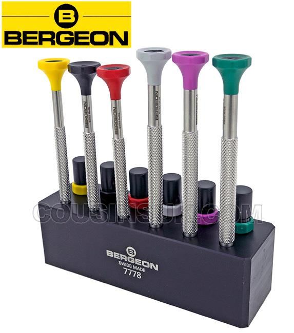 Bergeon Screwdriver Sets, Static Stands