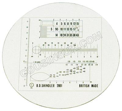 Lens for Shindler Diamond Scale
