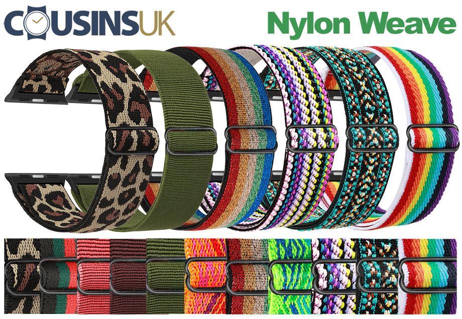 Nylon Weave - Elastic