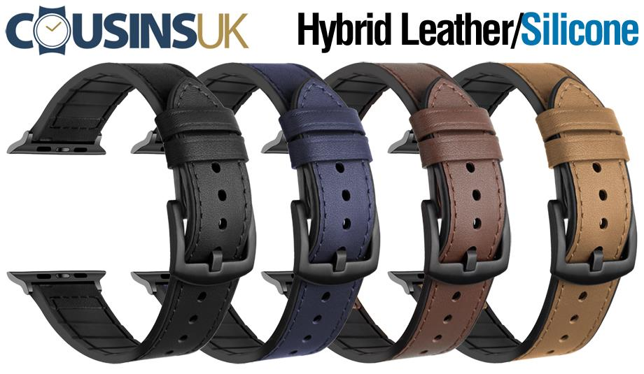 Hybrid - Leather/Silicone