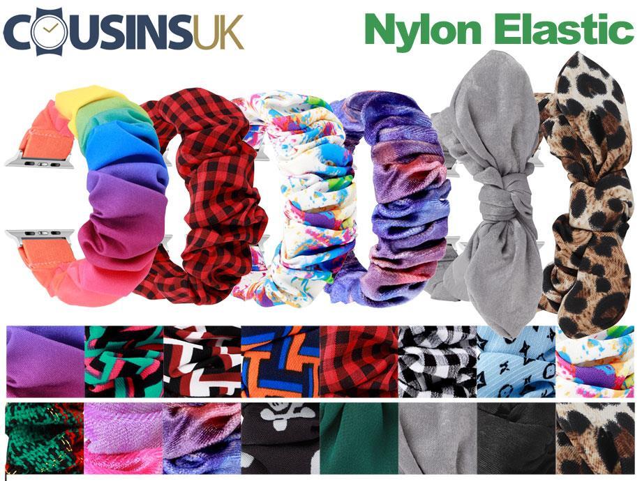 Nylon Elastic - Scrunchy Bands