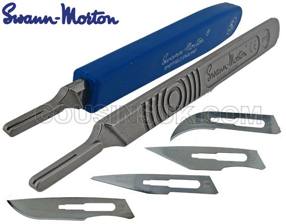 Scalpel (Blades, small fitting) Swann Morton