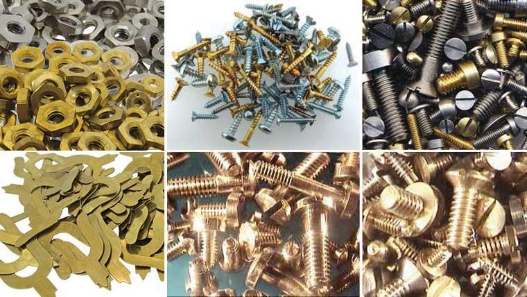 Screws (inc. Dial Screws), Nuts & Clips