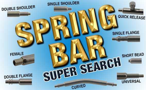 Spring Bar Super Search