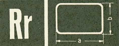 Rectangular/Square, Sternkreuz RR