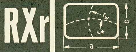 Rectangular Shaped, Sternkreuz RXR