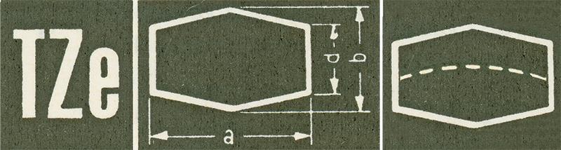Hexagonal Shaped, Sternkreuz TZE