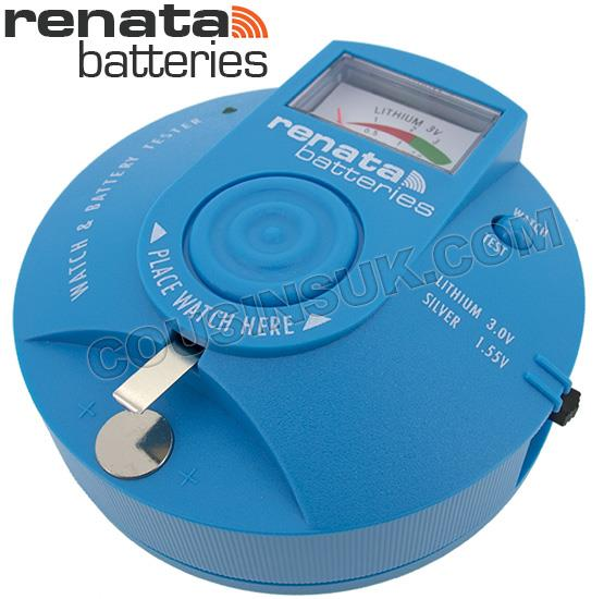 Renata Battery Tester (includes Mechanical Defect Test)