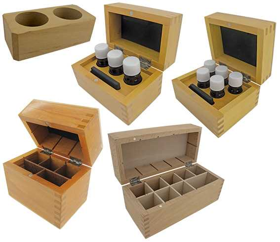 Gold Testing Acid Bottle Wooden Boxes
