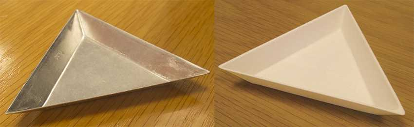 Trays, Small Triangular