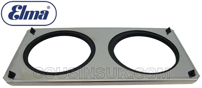 S10H Lid with Beaker Support Holes, Elma