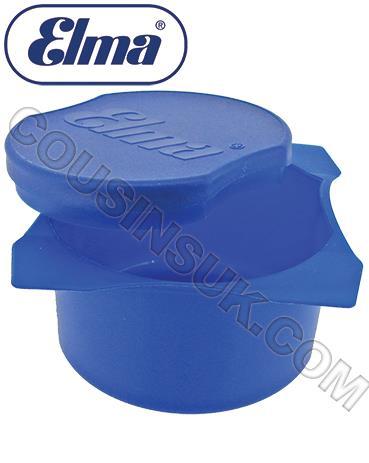 Ø80mm Pot & Lid (Blue) Elma