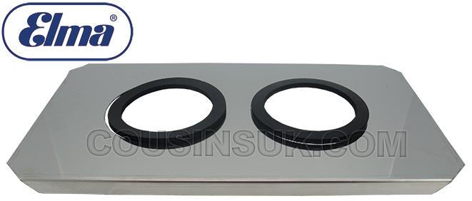 S60H Lid with Beaker Support Holes, Elma