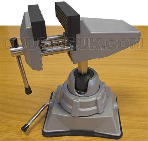 "Suction Base - 2¾"" (70mm) Jaw, Multi Angle (Model Craft)"