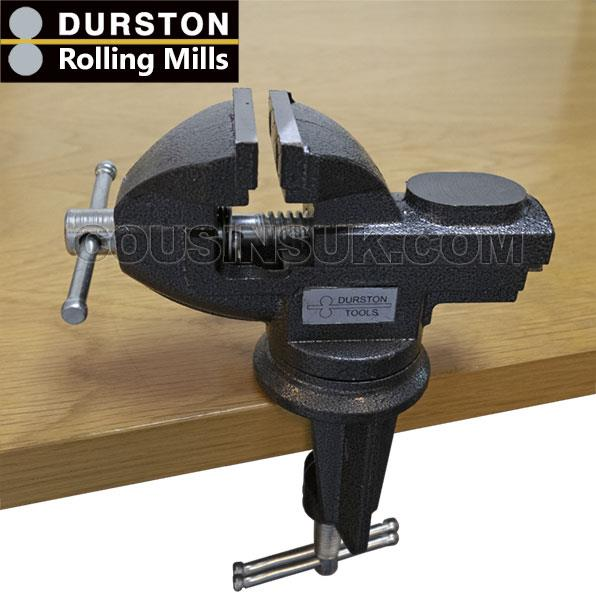 """Clamp On - 2"""" (50mm) Jaw, Rotating, Durston"""