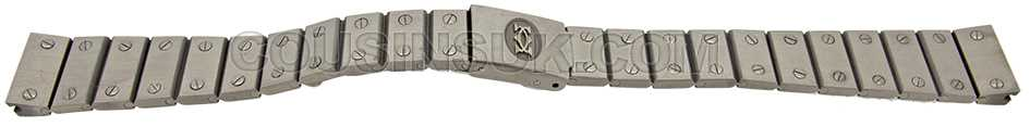 VA280100 Santos Quarre 14mm Bracelet (SS)