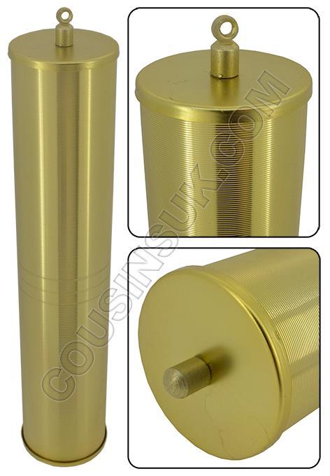 Weight Shells (Brass Colour), Ridged