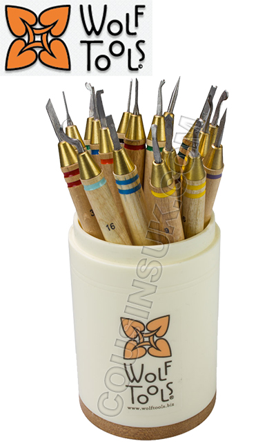 Wax Carvers (Wolf Tools), Set of 18