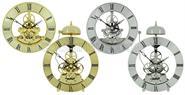 Skeleton quartz clock movement