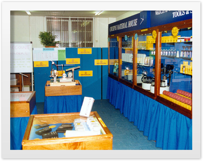 The 1996 Open Day at the Romford showroom
