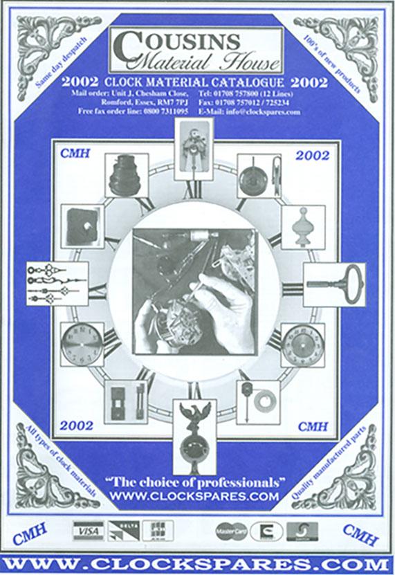 Cousins 2002 Catalogue